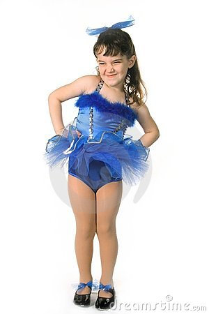 Free Tiny Girl Dancer Stock Images - 424264