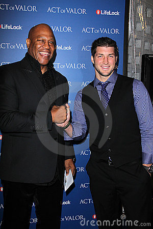 Tiny  Lister, Tiny Lister, Tim Tebow Editorial Stock Image