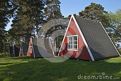 Tiny little cabins for rent