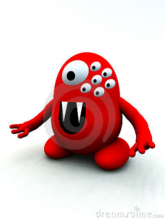 Tiny Red Monster 9