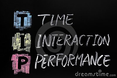 TIP acronym,time interaction