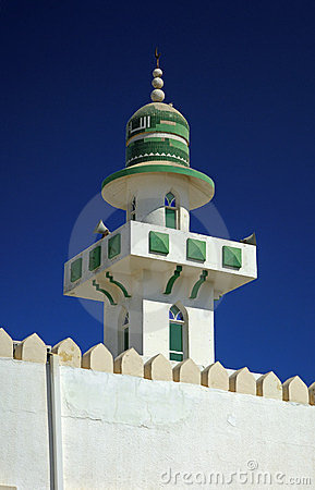 Tip of a minaret