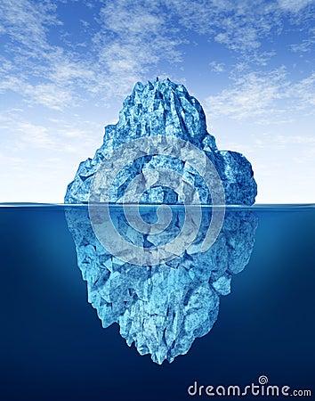 Free Tip Of The Iceberg Royalty Free Stock Photos - 22947328