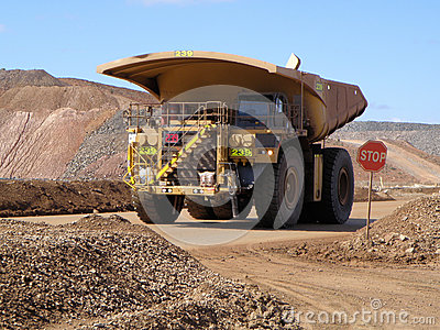 Tipper truck Editorial Photography