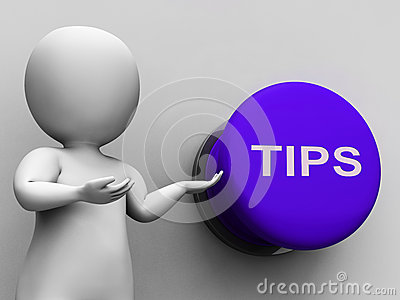 Tips Button Shows Guidance Suggestions