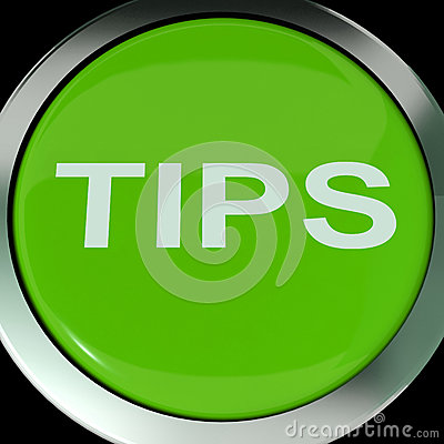 Tips Button Shows Help Suggestions Or Instructions