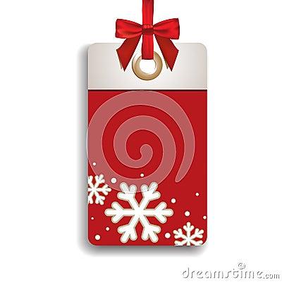 Étiquette de ventes de l hiver