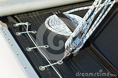 Tir en gros plan de corde