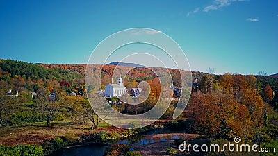 Tir a?rien d'automne dans Stowe clips vidéos