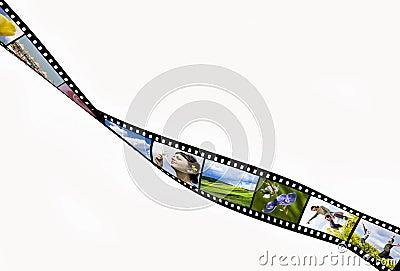 Tira de la película