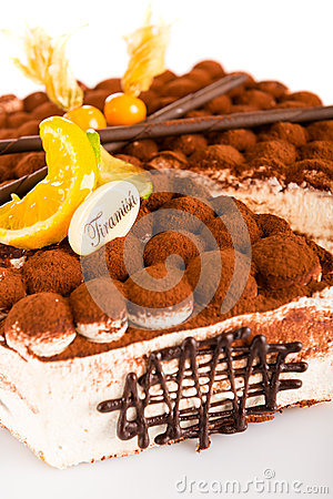 Tiramisu cake delicious dessert mascarpone