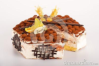 Tiramisu dessert cake delicious creamy mascarpone