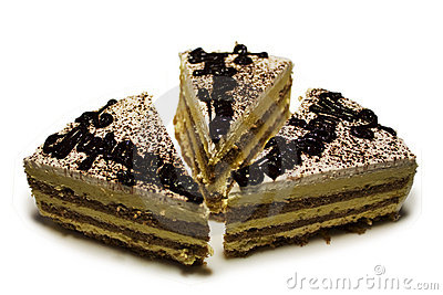 Tiramisu isolated