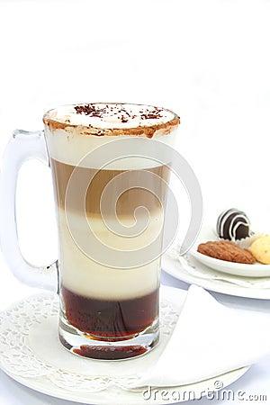 Tiramisu latte beverage