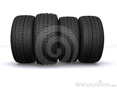 Tire automobile wheel