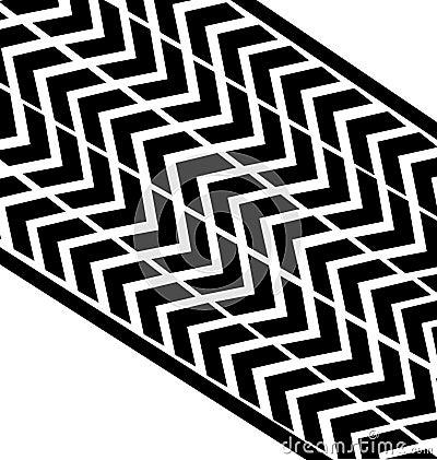 Tire print vector