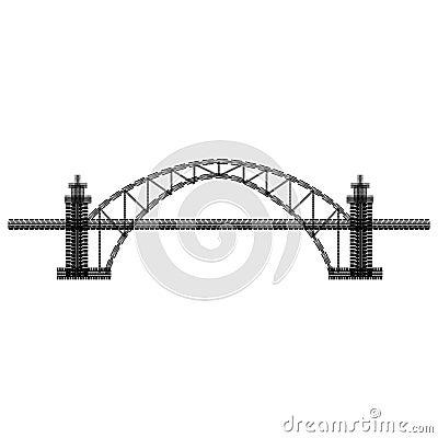 Free Tire Track Bridge Royalty Free Stock Image - 123141066