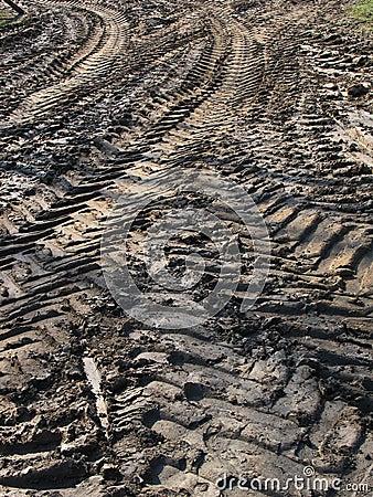 Free Tire Tracks Stock Photography - 15265292