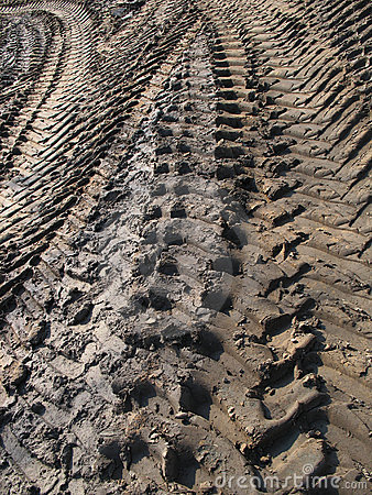 Free Tire Tracks Stock Photography - 15265322