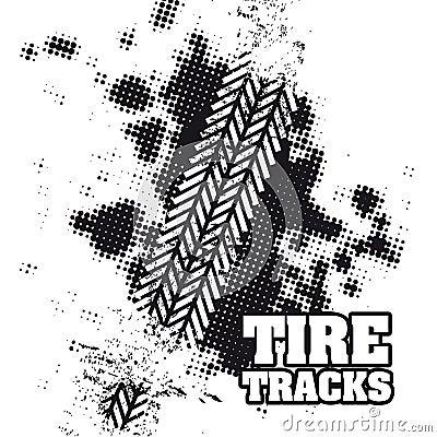 Free Tire Tracks Royalty Free Stock Image - 32302326