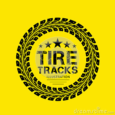 Free Tire Tracks Stock Images - 41839214