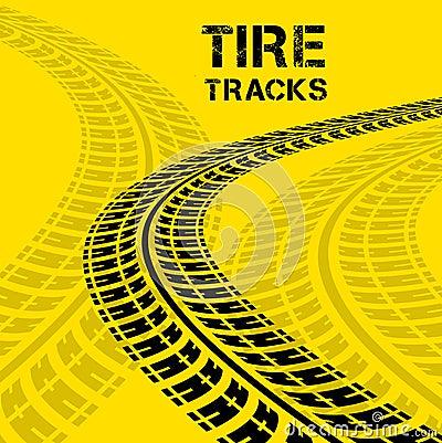 Free Tire Tracks Stock Photography - 41839332