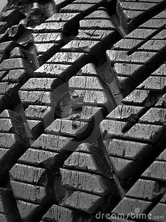 Free Tire Tread Pattern Stock Photography - 15241892