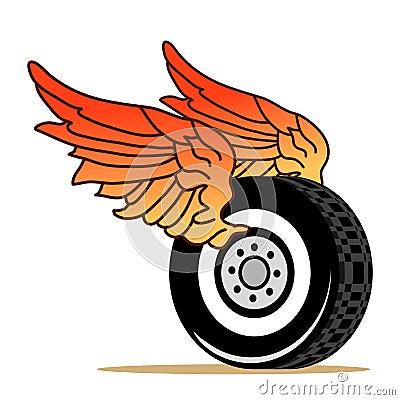 Tire wings