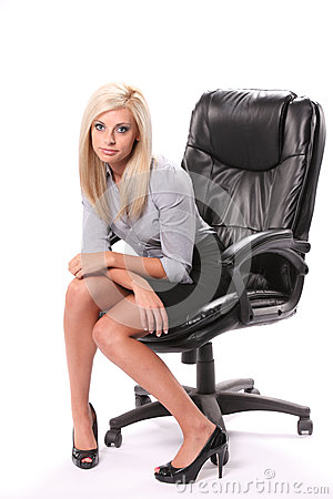 Tired Business Woman Royalty Free Stock Photography - Image: 27496397