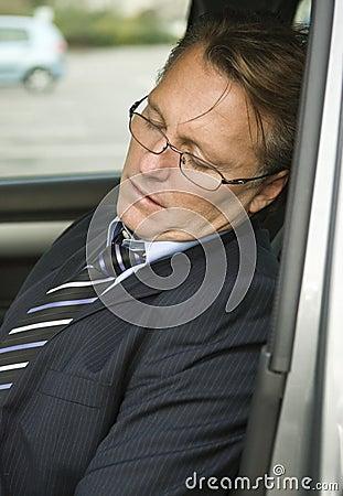 Free Tired Businessman Stock Photos - 7147603