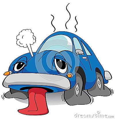 Tired car