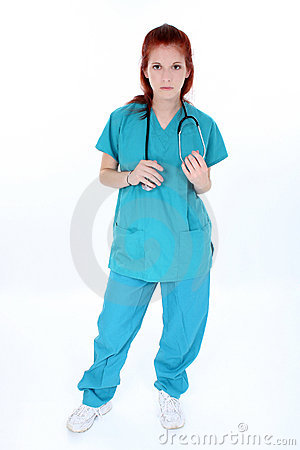 Free Tired Emergency Room Nurse Royalty Free Stock Image - 231066