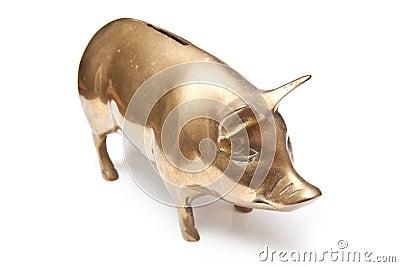 Tirelire d or