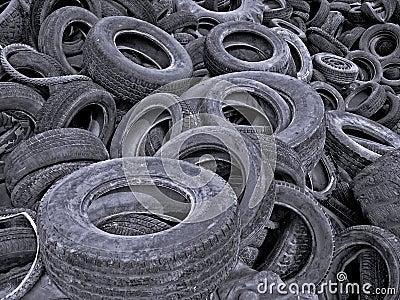Tires Cemetery