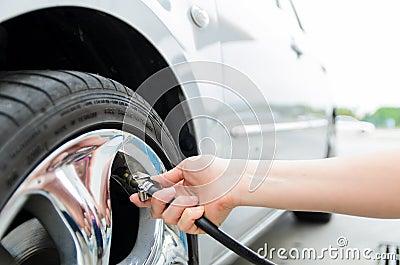 Tires pressure
