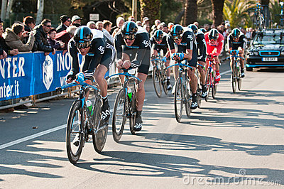 Tirreno Adriatica 2011 Editorial Image