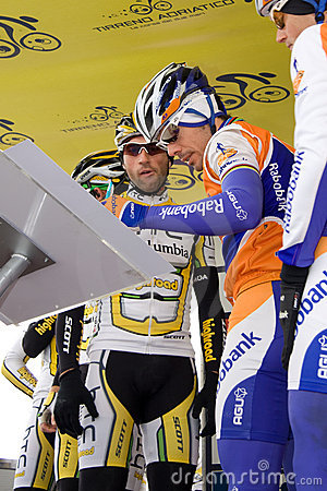 Tirreno Adriatico Editorial Stock Photo