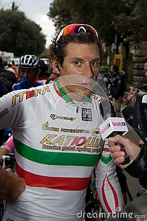 Tirreno Adriatico Editorial Image