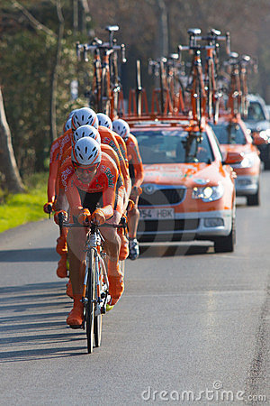 Tirreno Adriatico, first stage Editorial Image