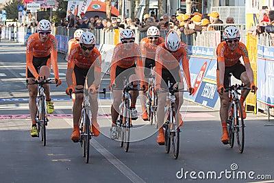 Tirreno Adriatico, first stage Editorial Photo