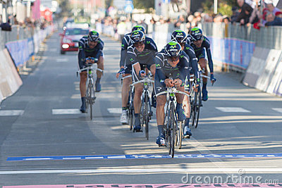 Tirreno Adriatico, first stage Editorial Photography