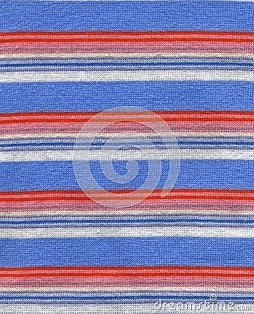 Tissu avec la texture de pistes