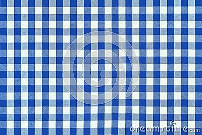 Tissu bleu détaillé de pique-nique