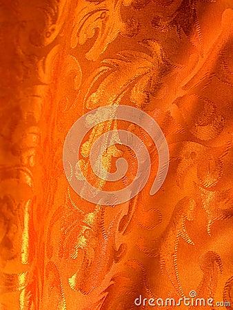 Tissu de luxe d or