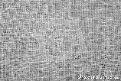 Tissu de toile blanc
