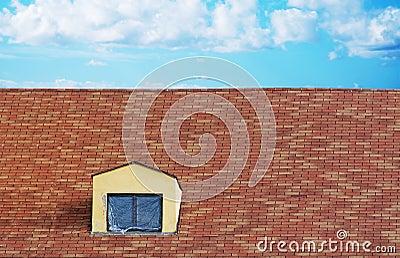 lucarne de toit avec le ciel photos libres de droits image 29232828 - Lucarne Moderne Et Toit Tuile