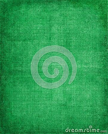 Tissu vert de cru