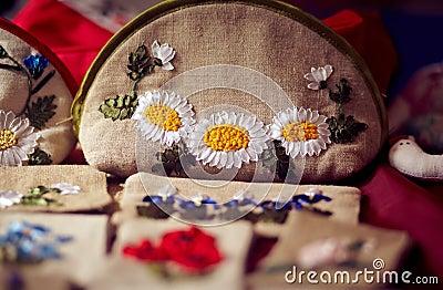 Tissue bags of handwork
