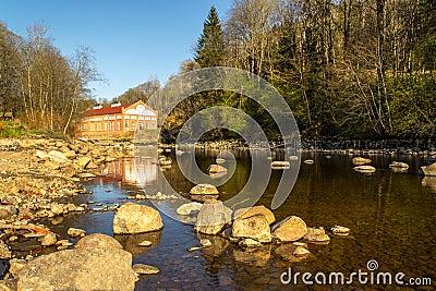 Tista river - autumn