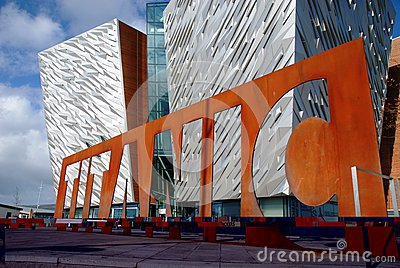 Titanic Belfast Editorial Image